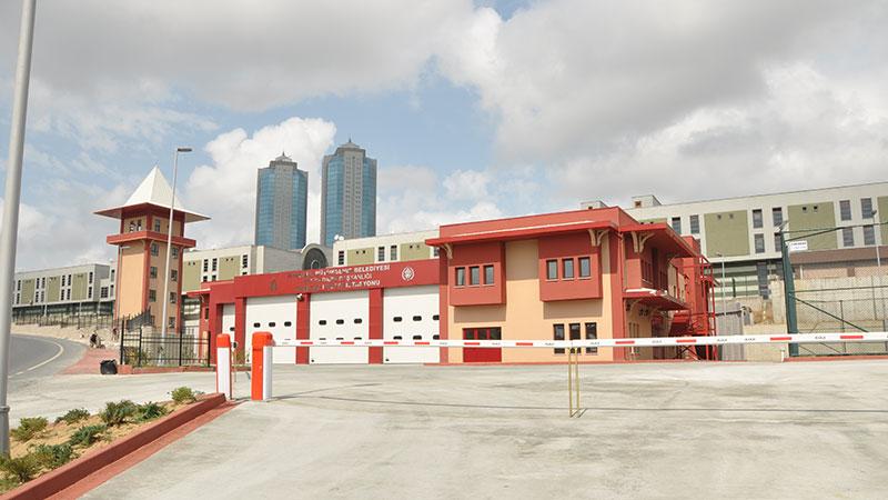 Esenler İtfaiye Binası ve Çevre Düzenleme İnşaatı