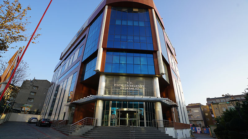 Esenler Kültür Merkezi ve Çevre Düzenleme İnşaatı