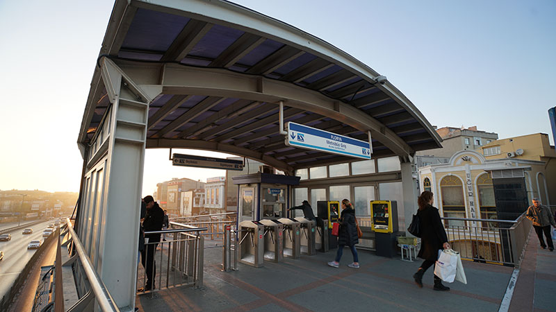 Florya Metrobüs İstasyonu İnşaatı