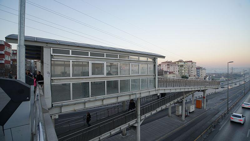 Avcılar İBB Sosyal Tesisler Metrobüs İstasyonu İnşaatı