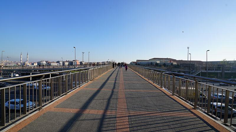 Okmeydanı Metrobüs İstasyonu İnşaatı