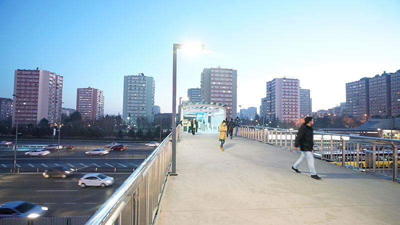 Şirinevler Metrobüs İstasyonu İnşaatı