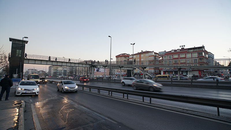 Avcılar Şükrübey Metrobüs İstasyonu İnşaatı
