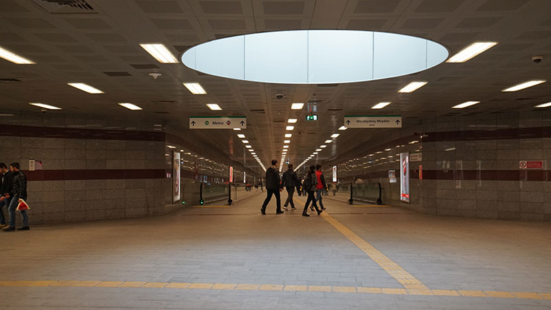 Trump Towers Metro Bağlantı Yolu Alt Geçit İnşaatı