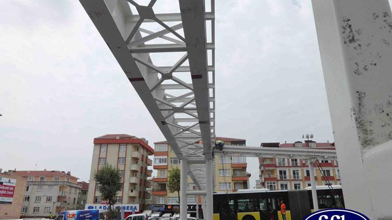 Çağlayan Metrobüs İstasyonu İnşaatı
