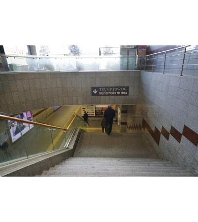 Mecidiyeköy Trump Towers Metro-Metrobüs Bağlantı Yolları, Tünel Altgeçit